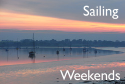 Take a berth on one of our Sailing Weekends